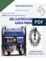 Dizel Elektricni Agregati i Njihova Primena