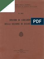 Specchio di caricamento della sezione di disinfezione (3920) 1940