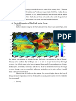 Physical Properties of North Indian Ocean