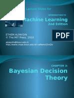 3. Bayesian Decision Theory