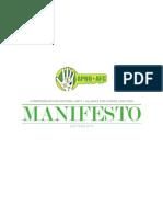 APNU+AFC 2015 Manifesto