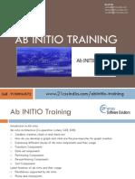 Ab INITIO Training by 21st Century 9100934572