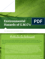 environmental hazards for gmos