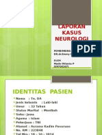 LAPORAN KASUS NEUROLOGI