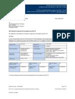Pcet Pier Ppc Approval Letter