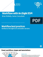Workflow With HP ArcSight ESM