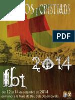 2014 - Libro Oficial de Fiestas de Moros y Cristianos de Ibi