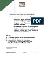 Um modelo democrático para os municípios