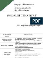 presentación UNIDADES TEMÁTICAS