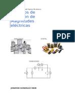 aparatos de medidas electricas