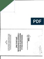 Ipnn Orientaciones Para La Presentacion de Proyectos y Trabajos de Investigacion Opti 2014