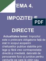 Ppt Impozite Directe Tema 4