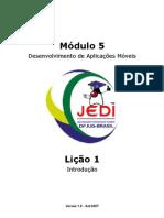 Projeto JEDI - Desenvolvimento de Aplicações Móveis - Java - 164 páginas