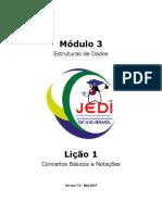 Projeto JEDI - Estruturas de Dados - Java - 198 páginas