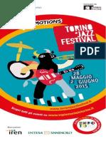 programma_2015 Torino Jazz Festival