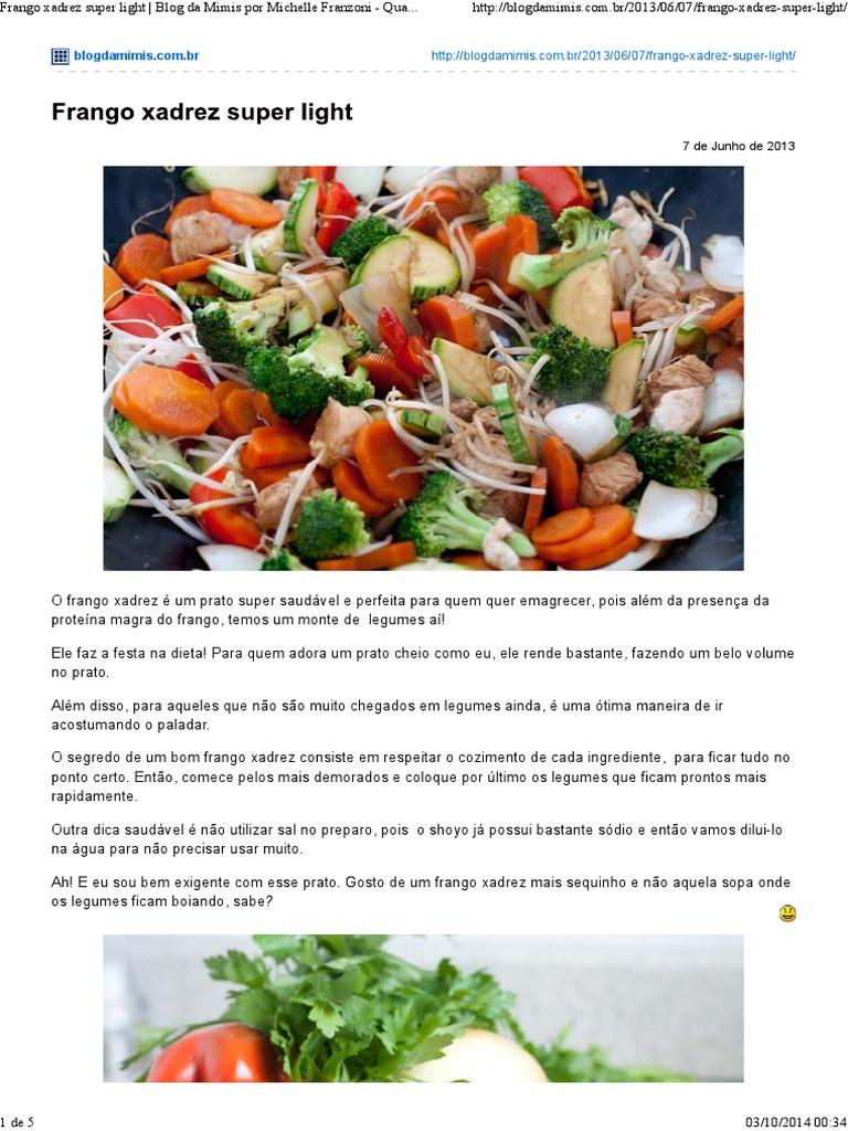 Blog da mimis dieta