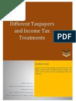Summary Philippine Income Tax Formula