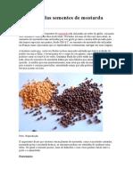 Benefícios Das Semenstes de Mostarda