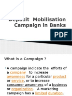 Deposit Campaign in Banks