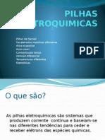 PILHAS ELETROQUIMICAS