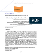 Vol4 Iss2 257 - 263 a Decision Support System for Parki
