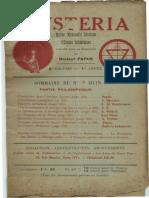 Mysteria juin 1913