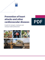 Prevention of heart attacks and other cardiovascular diseases