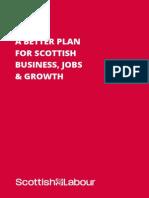 Scottish Labour Business Manifesto 2015