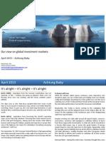 Global Market Outlook April 2013