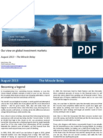 Global Market Outlook August 2013
