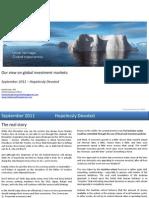 Global Market Outlook September 2011