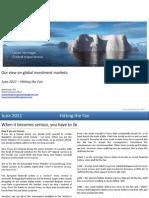 Global Market Outlook June 2011