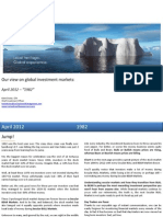 Global Market Outlook April 2012