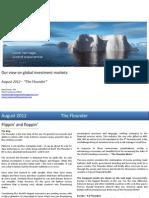 Global Market Outlook August 2012