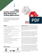 System Sensor PC2WHK Data Sheet