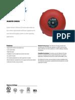 System Sensor SSM24-10 Data Sheet
