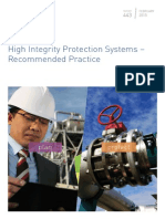 High Integrity Protection Systems recommended practice