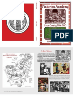 Pinkerton Academy 2014-15 Course Catalog
