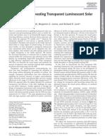 Advanced Optical Materials Volume Issue 2014 [Doi 10.1002%2Fadom.201400103] Zhao, Yimu; Meek, Garrett a.; Levine, Benjamin G.; Lunt, Richard -- Near-Infrared Harvesting Transparent Luminescent Solar C