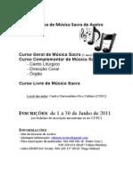 2011/12 Cartaz divulgação