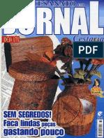 Artesanato Em Jornal Cestaria_Nº 33