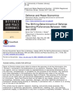 6 - Ecer and Veasey - The Shifting Determinants of Defense Spending Preferences 1980-2008