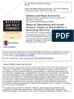 8 - Carbonnier and Wagner - Resource Dependence and Armed Violence