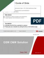 GSM O&M Solution V1.1