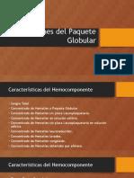 Indicaciones Especificas de Hemocomponentes