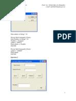 Ejercicios Visual Basic