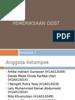Pemeriksaan DDST