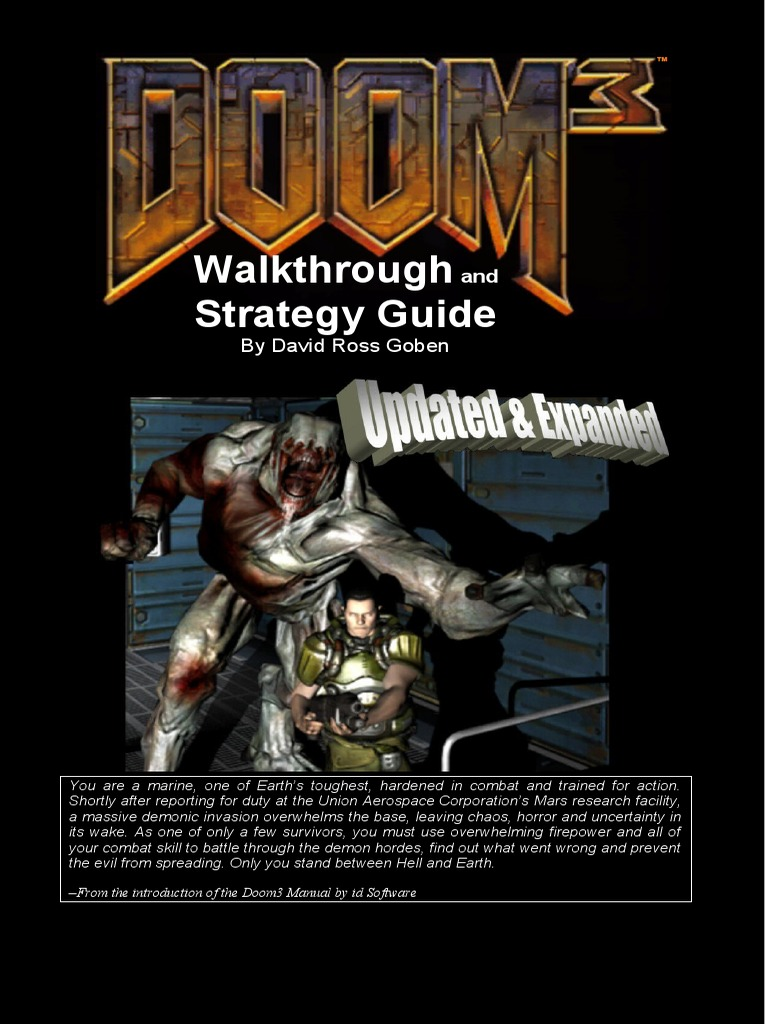 Doom 3 Walkthrough and Strategy Guide | Command Line Interface