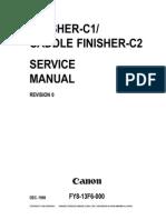 Canon Copier Saddle Finisher c2
