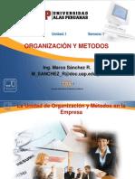 OYM UD1 Sem01-La Organización